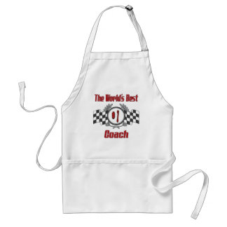 The World's Best Coach - Number One Adult Apron
