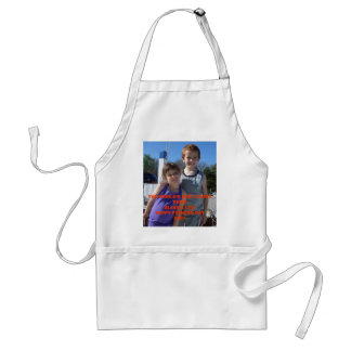 THE WORLD'S BEST DADDY EVER!BLAKE  - Customized Adult Apron