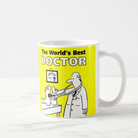 The World's Best Doctor Coffee Mug