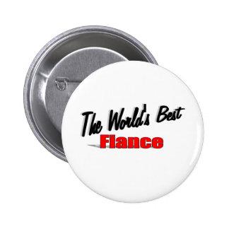 The World's Best Fiance Pinback Button