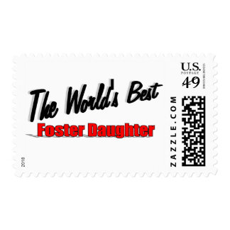 The World's Best Foster Daughter Postage Stamps