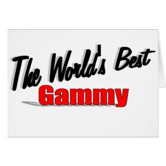The World's Best Gammy Card