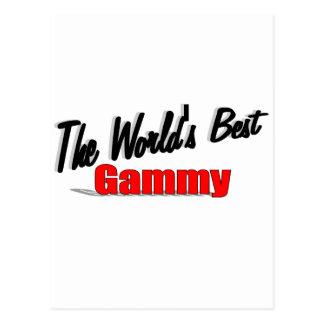 The World's Best Gammy Postcard