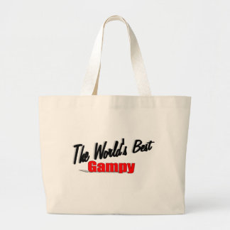 The World's Best Gampy Large Tote Bag