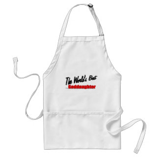 The World's Best Goddaughter Adult Apron
