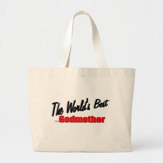 The World's Best Godmother Bag
