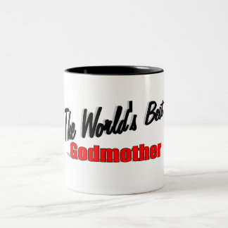 The World's Best Godmother Two-Tone Coffee Mug