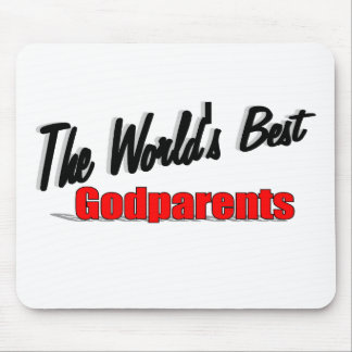The World's Best Godparents Mouse Pad