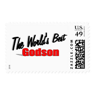 The World's Best Godson Postage Stamps