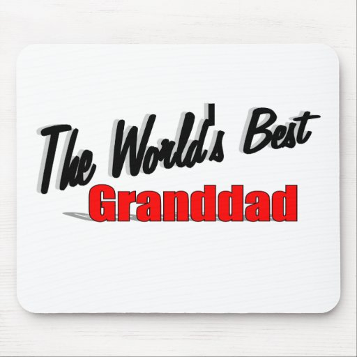 The World's Best Granddad Mouse Pad