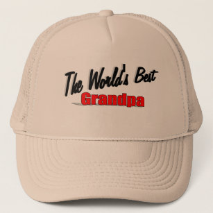 0c0c404c6a7 The World s Best Grandpa Trucker Hat