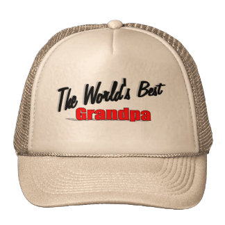 The World's Best Grandpa Trucker Hat