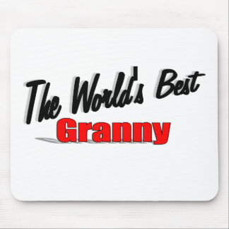 The World's Best Granny Mouse Pad