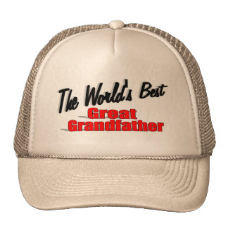 The World's Best Great Grandfather Trucker Hat