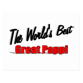 The World's Best Great Pappi Postcard