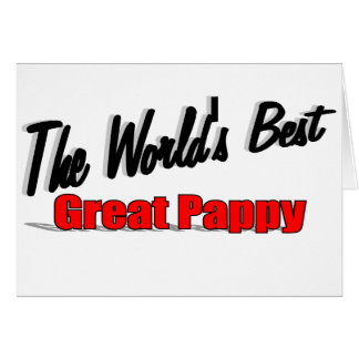 The World's Best Great Pappy Card