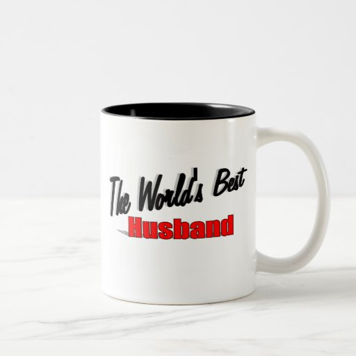The World's Best Husband Mug