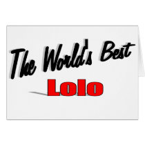 The World's Best Lolo