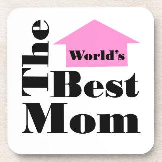 The World's Best Mom Beverage Coaster