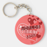 The World's Best Mom Key Chain