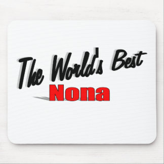 The World's Best Nona Mousepad