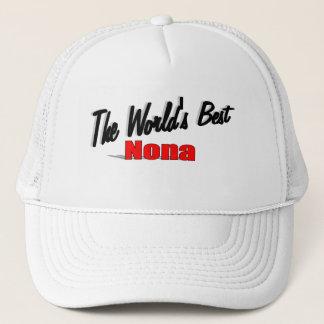 The World's Best Nona Trucker Hat
