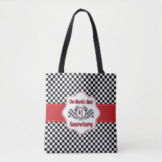 The World's Best Number One Secretary Tote Bag