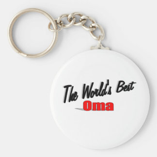 The World's Best Oma Keychain