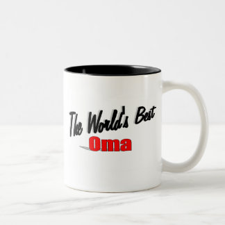 The World's Best Oma Coffee Mugs