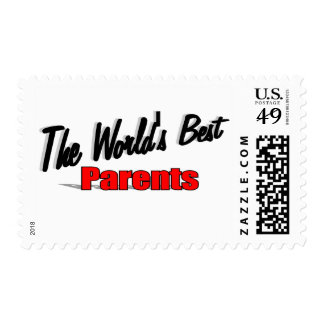 The World's Best Parents Postage Stamp