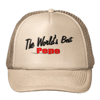 The World's Best PePe Trucker Hat