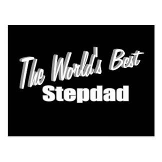 The World's Best Stepdad Postcard