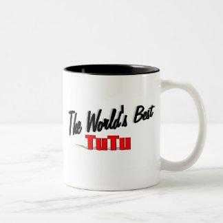 The World's Best Tutu Two-Tone Coffee Mug