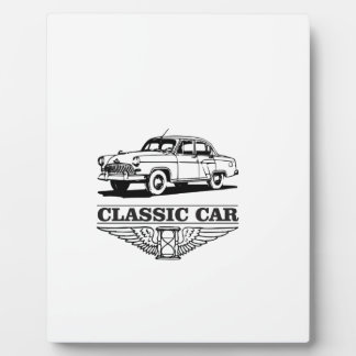 the worlds classic car plaque