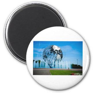 The Worlds Fair 2 Inch Round Magnet