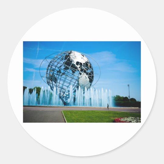 The Worlds Fair Classic Round Sticker