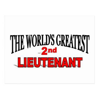 The World's Greatest 2nd Lieutenant Postcard