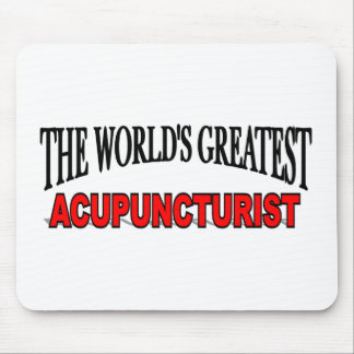 The World's Greatest Acupuncturist Mouse Mats