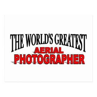 The World's Greatest Aerial Photographer Postcard