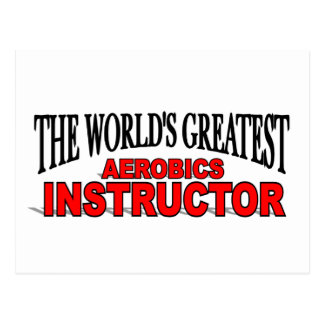 The World's Greatest Aerobics Instructor Postcard