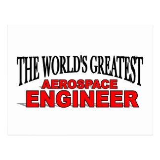 The World's Greatest Aerospace Engineer Postcards