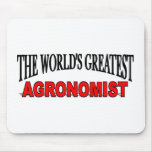The World's Greatest Agronomist Mouse Mat
