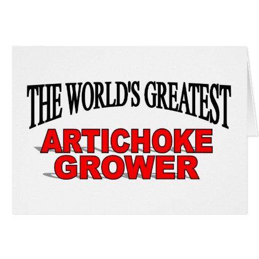The World's Greatest Artichoke Grower Card