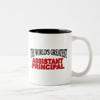 The World's Greatest Assistant Principal Two-Tone Coffee Mug