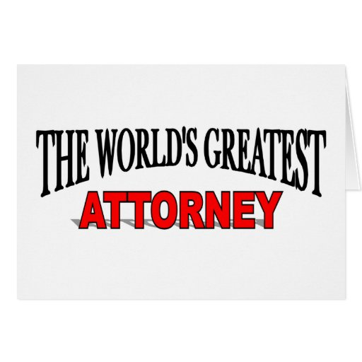 The World's Greatest Attorney Greeting Cards