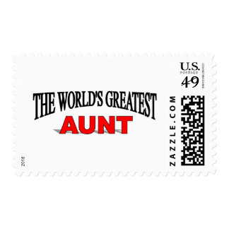 The World's Greatest Aunt Stamps