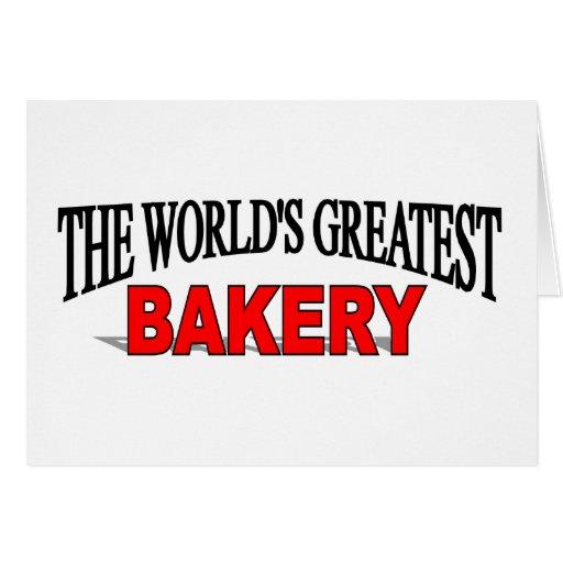 The World's Greatest Bakery Card