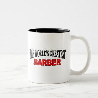 The World's Greatest Barber Mugs