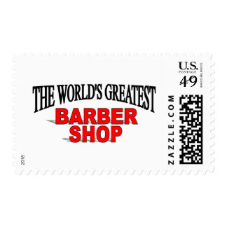 The World's Greatest Barber Shop Postage