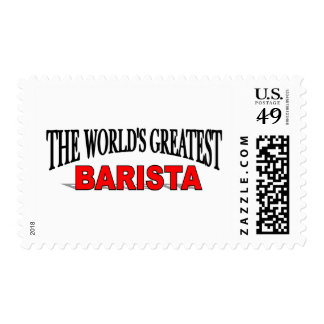 The World's Greatest Barista Stamps
